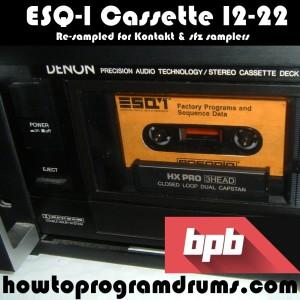 ESQ-1 Cassette 12-22